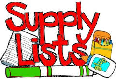2018-2019 NMS Supply Lists